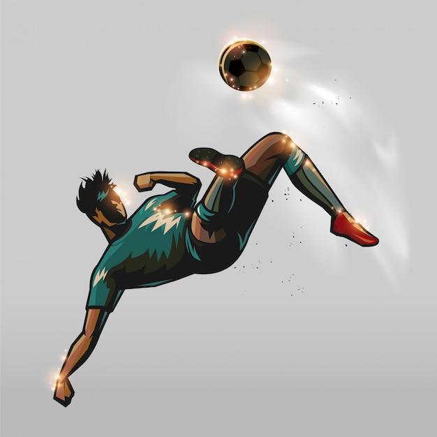 Voetbal terug om te trappen
