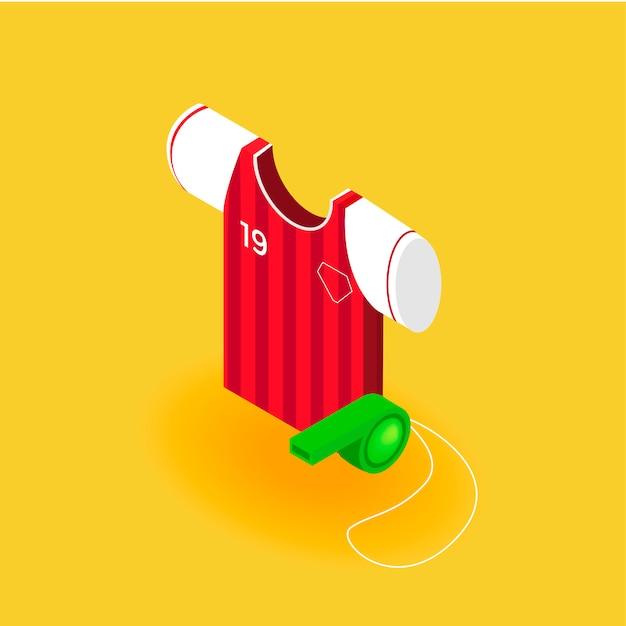 Voetbal uniform