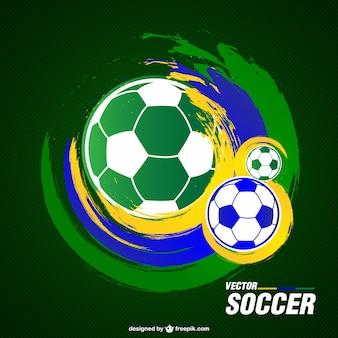 Voetbal vector gratis grafische