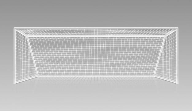 Voetbal voetbal doel realistische sportuitrusting