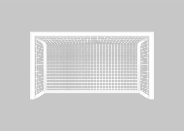 Voetbal voetbal doel