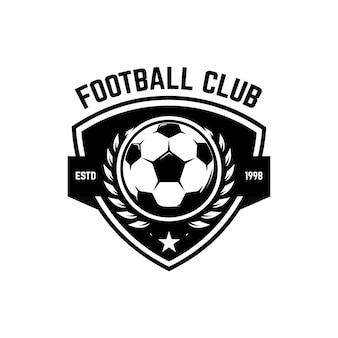 Voetbal, voetbal emblemen illustratie