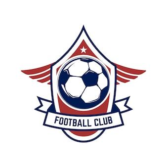 Voetbal, voetbal logo.