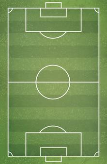 Voetbal voetbalveld voor achtergrond.