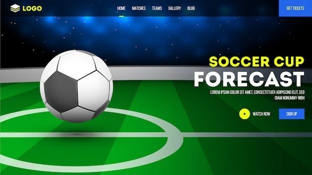 Voetbalclub website.