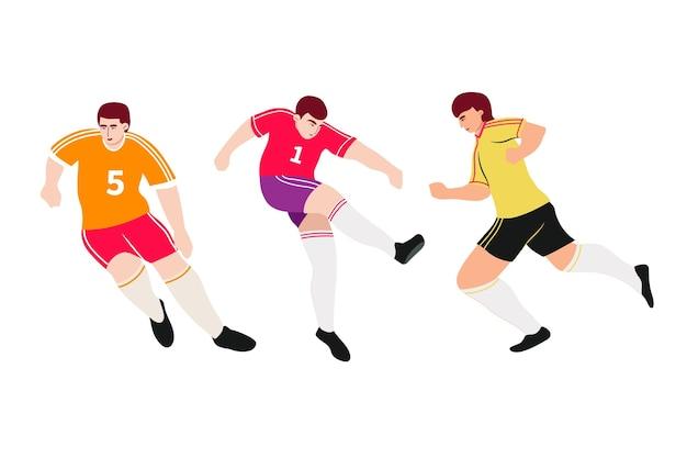 Voetballers collectie
