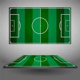 Voetbalvelden ontwerp