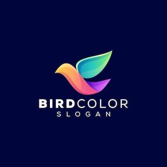 Vogel kleurverloop logo