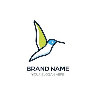 Vogel logo ontwerp vector