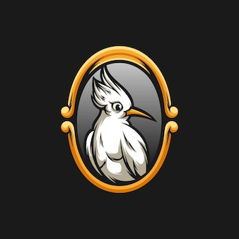 Vogel mascotte ontwerp