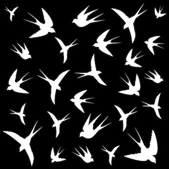 Vogel vlucht achtergrond