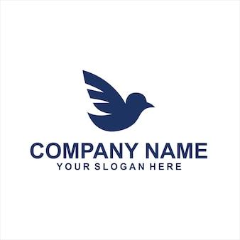 Vogels dieren logo vector