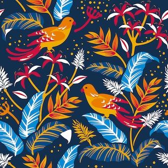 Vogels in het ontwerp van de natuur
