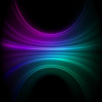 Volledig bewerkbare kleurrijke abstracte achtergrond. bestand opgenomen