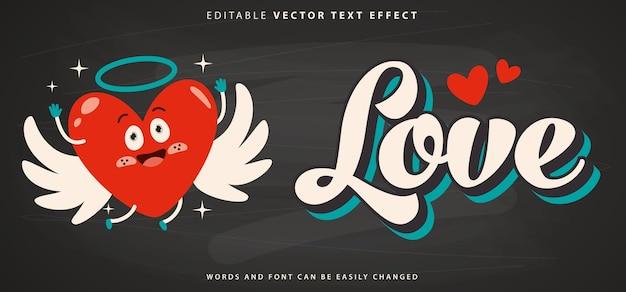 Volledig bewerkbare teksteffectstijl
