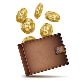 Volledige bitcoin-portemonnee