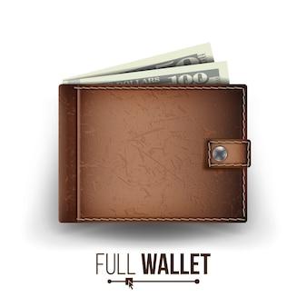 Volledige portemonnee