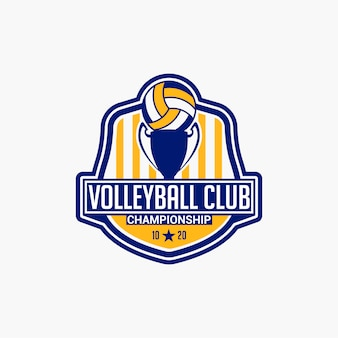 Volleybal club badge