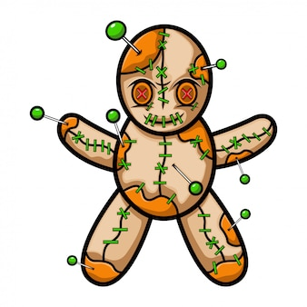 Voodoo-pop mascotte logo