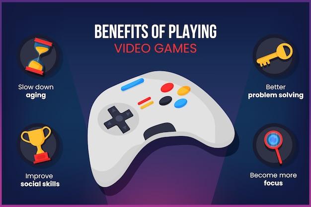 Voordelen van het spelen van videogames