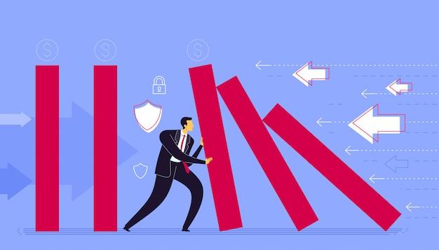 Voorkom strategie voor bedrijfsverlies