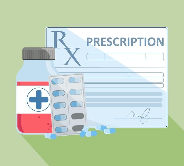 Voorschrift en behandeling van medicijnen