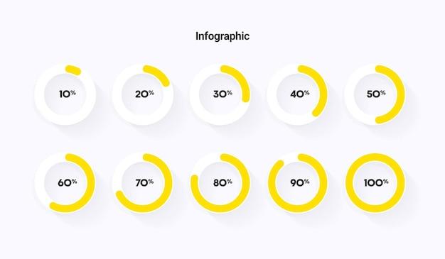 Voortgang infographic downloaden laden