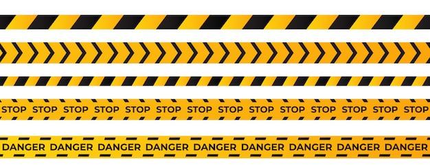 Voorzichtigheid tape voor de bouw