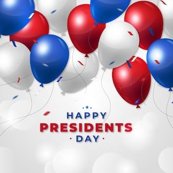 Voorzittersdag met realistische ballonnen