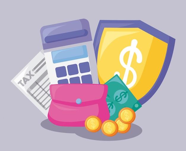 Voucher met economie en financieel