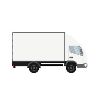 Vrachtwagen met koude ruimte
