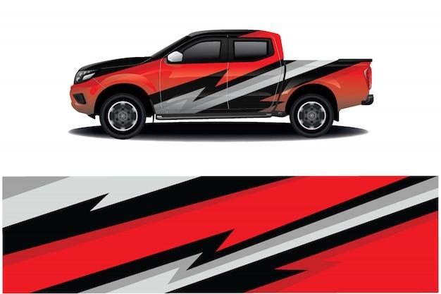Vrachtwagen sticker wrap ontwerp