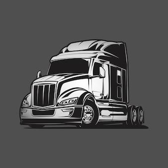 Vrachtwagen vectorillustratie