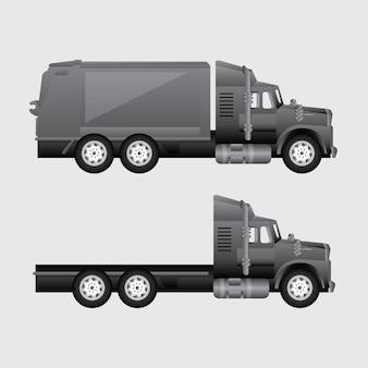 Vrachtwagen voor levering