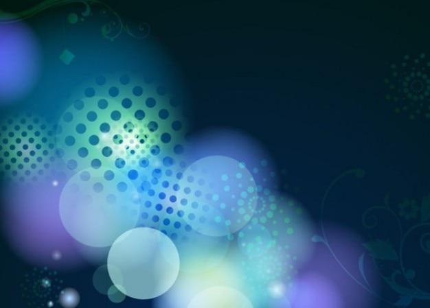 Vrij abstract ontwerp blauwe vector illustratie