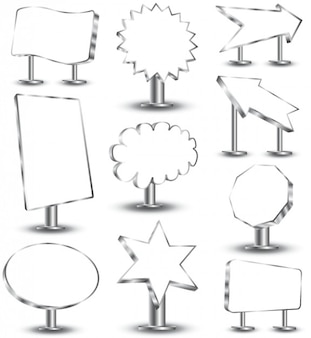 Vrije vector etiketten stickers badges banners en labels