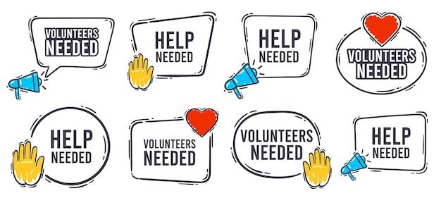 Vrijwilligers hadden bannerset nodig