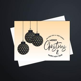 Vrolijk kerstfeest 2019 sjabloon voor spandoek