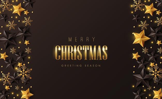Vrolijk kerstfeest achtergrondontwerp