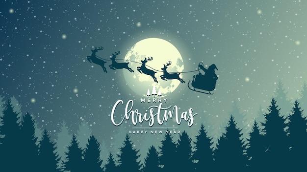 Vrolijk kerstfeest afbeelding achtergrond
