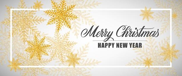 Vrolijk kerstfeest en nieuwjaarsbelettering
