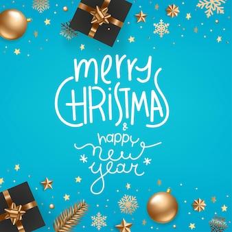 Vrolijk kerstfeest gelukkig nieuwjaar