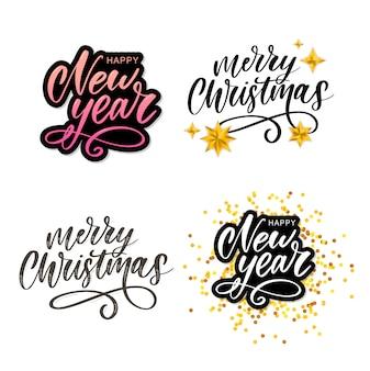 Vrolijk kerstfeest nieuwjaar
