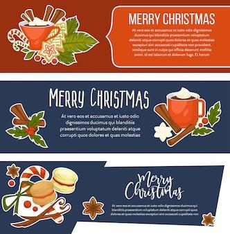 Vrolijk kerstmis gelukkig nieuwjaar, viering van de wintervakantie
