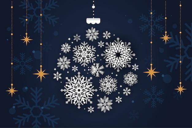 Vrolijk kerstmisconcept als achtergrond