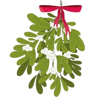 Vrolijk kerstmisconcept met decoratiepictogrammen