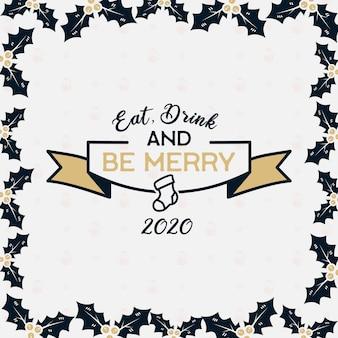 Vrolijk kerstseizoen
