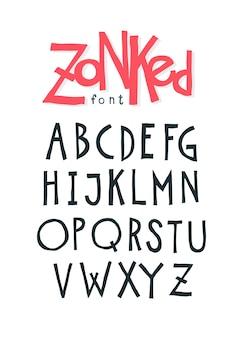 Vrolijk vriendelijk lettertype.