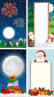 Vrolijke de kaartverticaal van de kerstmisgroet als achtergrond