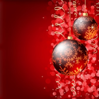 Vrolijke kerstmis elegante achtergrond.